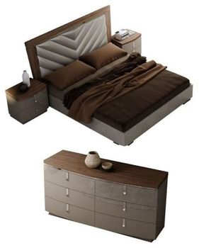 The Napa Queen Modern Bed