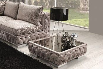The Vanity Fabric Coffee Table
