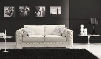 The Vanity Leather Sofa Bed
