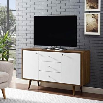 Transmit Sideboard in Walnut White 2531