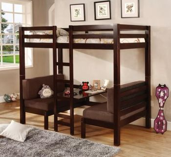 Twin Over Twin Convertible Loft Bed