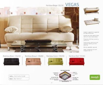 Vegas Sofa Bed with Storage