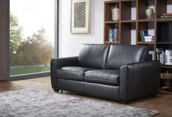 Ventura Premium Leather Pull Out Sofa Bed