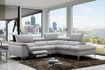 Viola Premium Leather Sectional