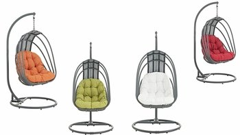 WHISK OUTDOOR PATIO SWING CHAIR WITH STAND