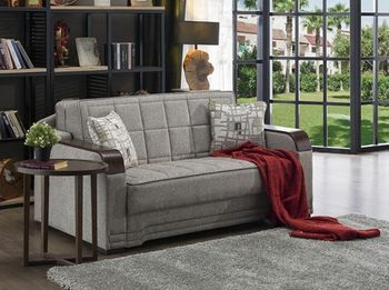 Willow Loveseat Size Sleeper with Storage