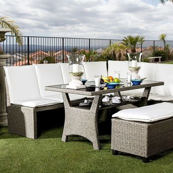 WISHEKA 3 PC. PATIO DINING SET