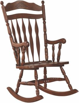 Wood Rocking Chair # 600187