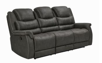 Wyatt Upholstered Motion Sofa With Drop-Down Table 602451