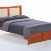 Zezo Twin Platform bed with 2 Short storage drawers- P Series