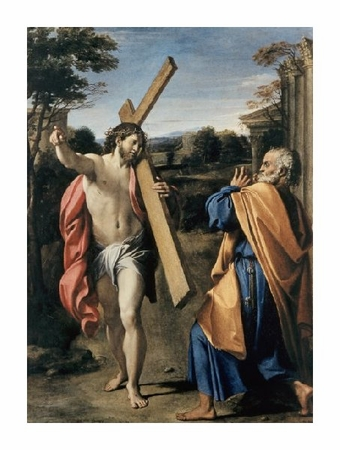 """Agostino Carracci Fine Art Open Edition Giclée:""""Christ Appearing to Saint Peter"""""""