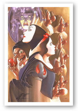 "Alex Ross Artist Signed and Numbered Limted Edition Canvas Giclee:""Once There Was a Princess"""