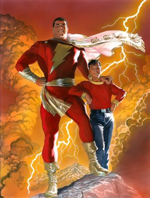 "Alex Ross Artist Proof Limited Edition Print: ""SHAZAM!"""