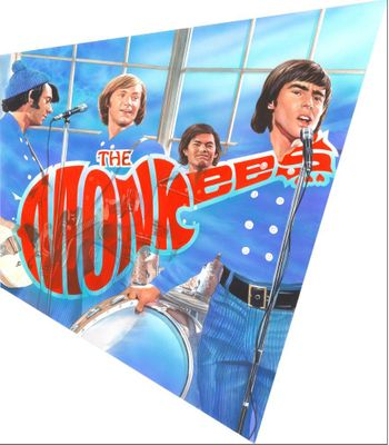 """Alex Ross Artist Signed Limited Edition Print:""""Hey, Hey We're The Monkees"""""""