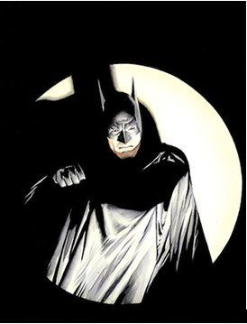 """Alex Ross Gallery Exclusive Limited Edition Gallery Wrap Canvas:""""The Bat-Man!"""""""