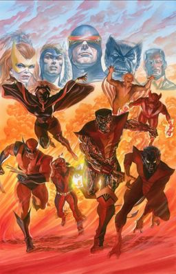 """Alex Ross Signed Artist Proof Limited Edition Lithograph:""""X-Men Tribute"""""""