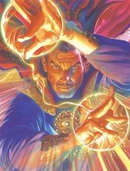 "Alex Ross Limited Edition Fine Art Giclee Print on Canvas:""Marvelocity: Doctor Strange"""