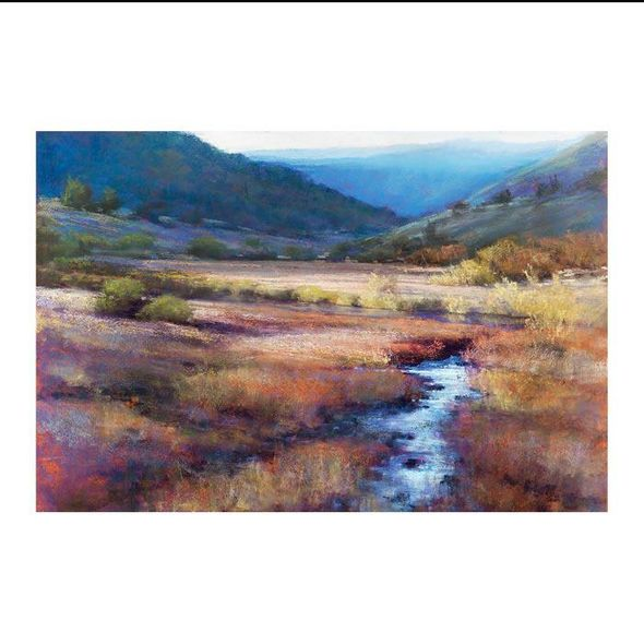 """Amanda Houston Limited Canvas Giclee : """"Out Of Yellowstone"""""""