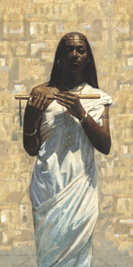 "Andre Rushing Limited Edition Giclee:""Fatima"""