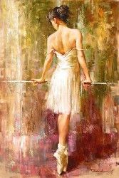 """Andrew (Andrew Atroshenko) Handsigned and Numbered Limited Edition Giclee on Canvas:""""Purity"""""""