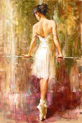 "Andrew (Andrew Atroshenko) Handsigned and Numbered Limited Edition Giclee on Canvas:""Purity"""