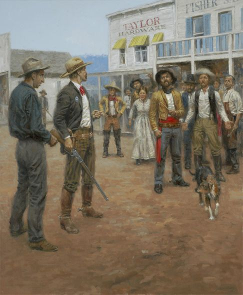 """Andy Thomas Artist Signed and Numbered Limited Edition Giclee:""""One Riot, One Ranger (Texas Rangers)"""""""