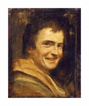 """Annibale Carracci Fine Art Open Edition Giclée:""""A Smiling Youth"""""""