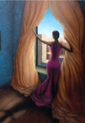 "Answerd Stewart Limited Edition Fine Art Print :""Return to the Light"""