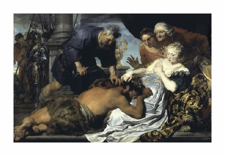 "Anthony Van Dyck Fine Art Open Edition Giclée:""Samson and Delilah"""