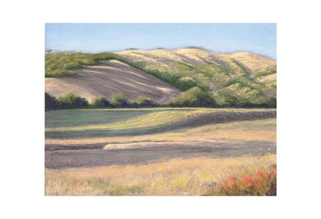 """Barbara Lawrence Signed and Numbered Limited Edition Giclée on Somerset Velvet Paper:""""Flander's Ranch III"""""""