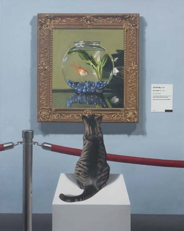 """Ben Steele Hand Signed and Numbered Limited Edition Giclee On Paper and Canvas:""""Curiosity"""""""