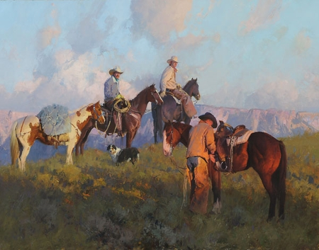 """Bill Anton Hand Signed and Numbered Limited Edition Giclee Print:""""One More Notch"""""""