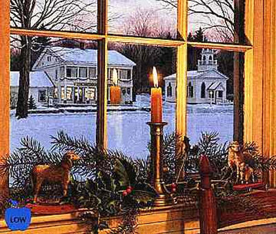 """Bill Breedon Limited Edition Print: """"Season of Peace"""" Sold Out!"""