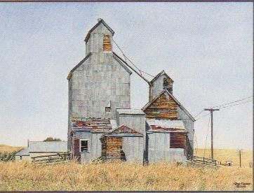 "Jon Crane Limited Edition Giclee on Paper:""Rising from the Plains"""