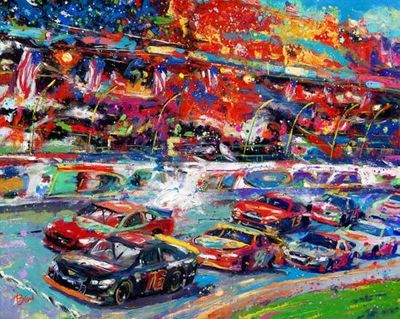 "Blend Cota limited edition giclée on canvas:""Great American Race, The"""