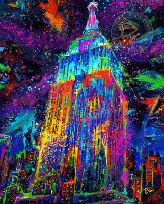 """Blend Cota limited edition giclée on canvas:""""Lights of Hope"""""""