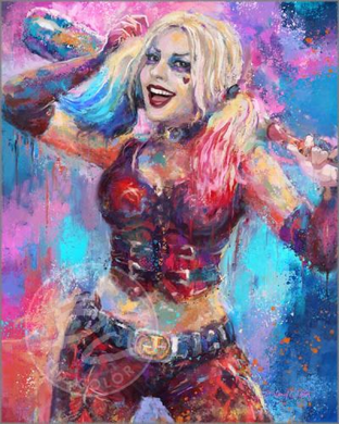 """Blend Cota limited edition giclée on paper:""""Daddy's Lil Monster"""""""