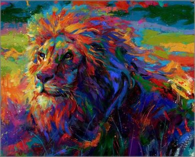 """Blend Cota limited edition giclée on paper:""""King of the Jungle"""""""