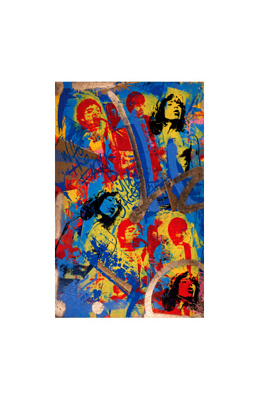 """Bobby Hill Limited Edition Pencil Signed Artist's Proof Giclee:""""Jagger"""""""