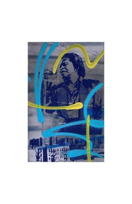 """Bobby Hill Limited Edition Pencil Signed Artist's Proof Giclee:""""James Brown"""""""