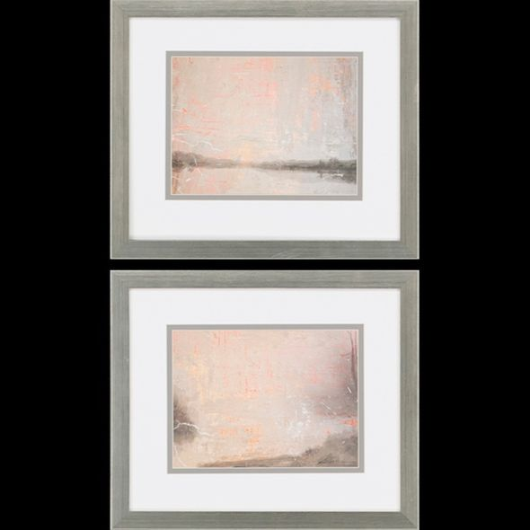 "Bobby Sikes Contemporary Framed Art ""Delta Dawn I Pk/2"""
