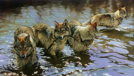 """Bonnie Marris Handsigned & Numbered Limited Edition Print:""""Catch of the Day """""""