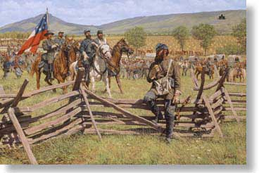 "Bradley Schmehl Limited Edition Canvas:""The Prince and the Professor - The Valley Campaign """