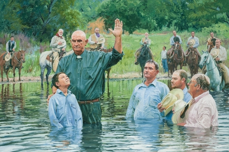"""Bruce Greene Artist Hand Signed Limted Edition Giclee:""""In the Brazos de Dios """""""