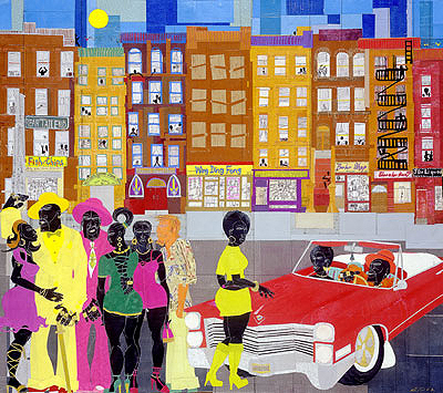 """Willie Torbert Limited Edition Signed Giclee Ed. 295:""""Game On"""""""