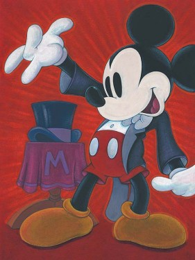 """Bret Iwan Signed and Numbered Giclée on Canvas: """"The Magician"""""""