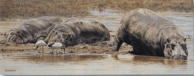 """Brian Jarvi Limited Edition Print: """"On The Flats"""""""