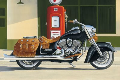"""Brian Loker Limited Edition Museum Quality Giclée: """"Fire Chief"""""""