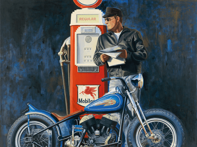 "Brian Loker Limited Edition Museum Quality Giclée: ""Freedom Machines"""