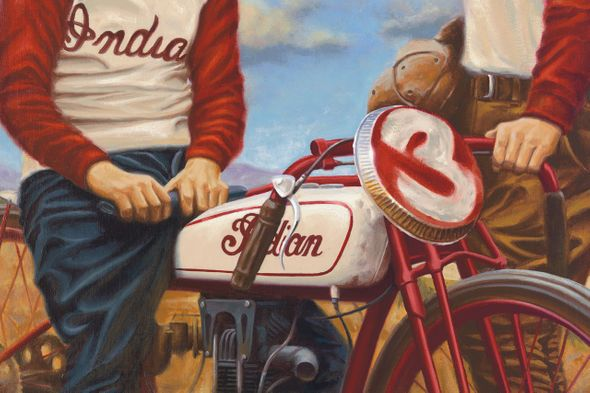"Brian Loker Limited Edition Museum Quality Giclée: ""Legends"""
